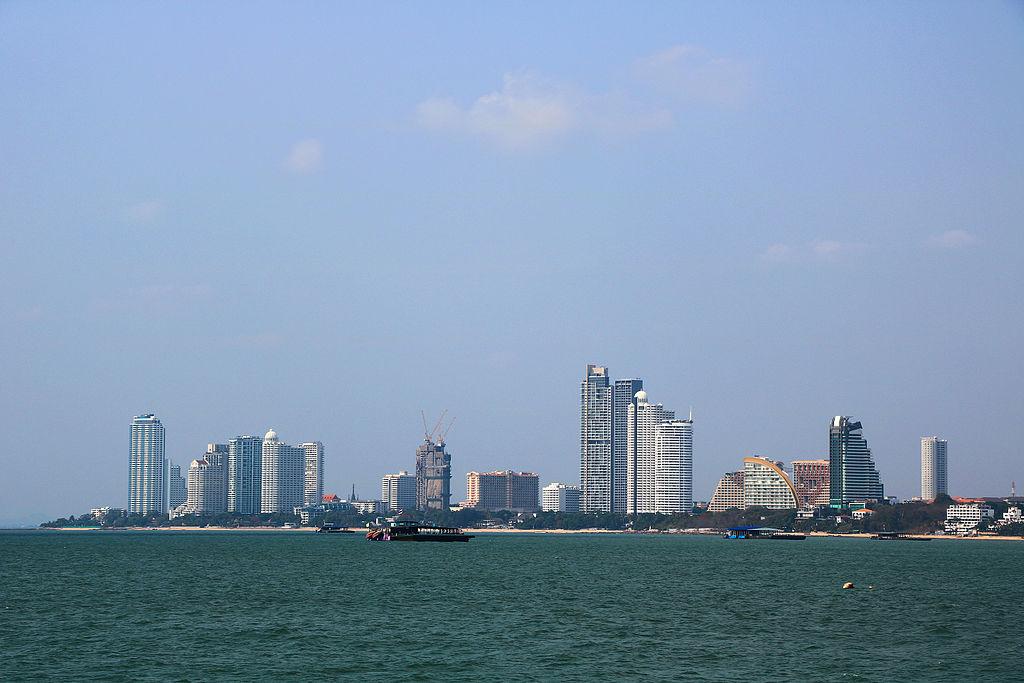 View of Naklua in North Pattaya