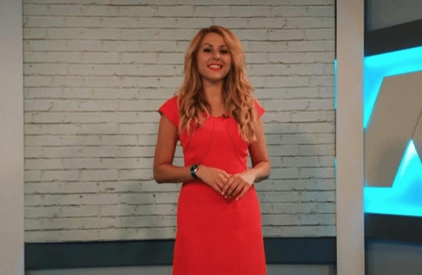 Bulgarian journalist Viktoria Marinova