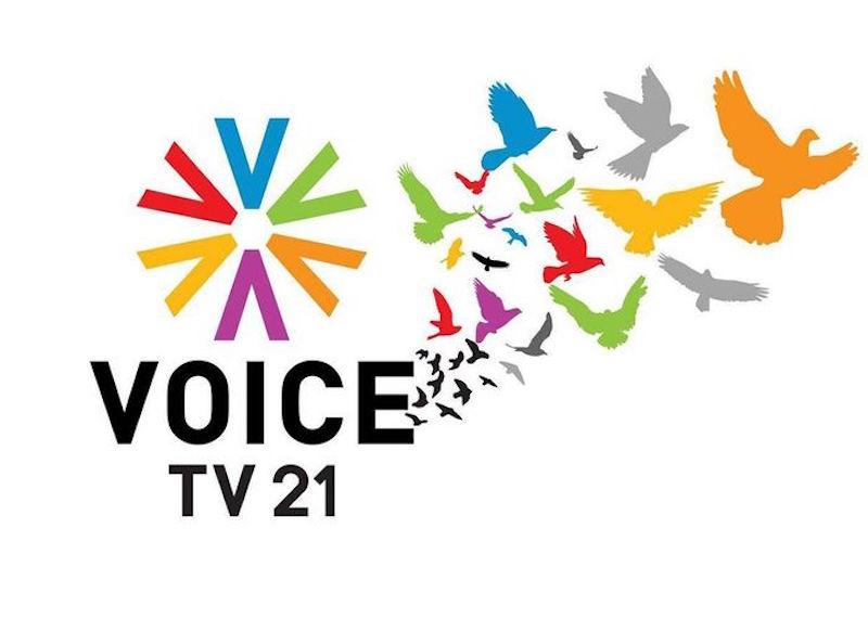 VoiceTV 21 logo