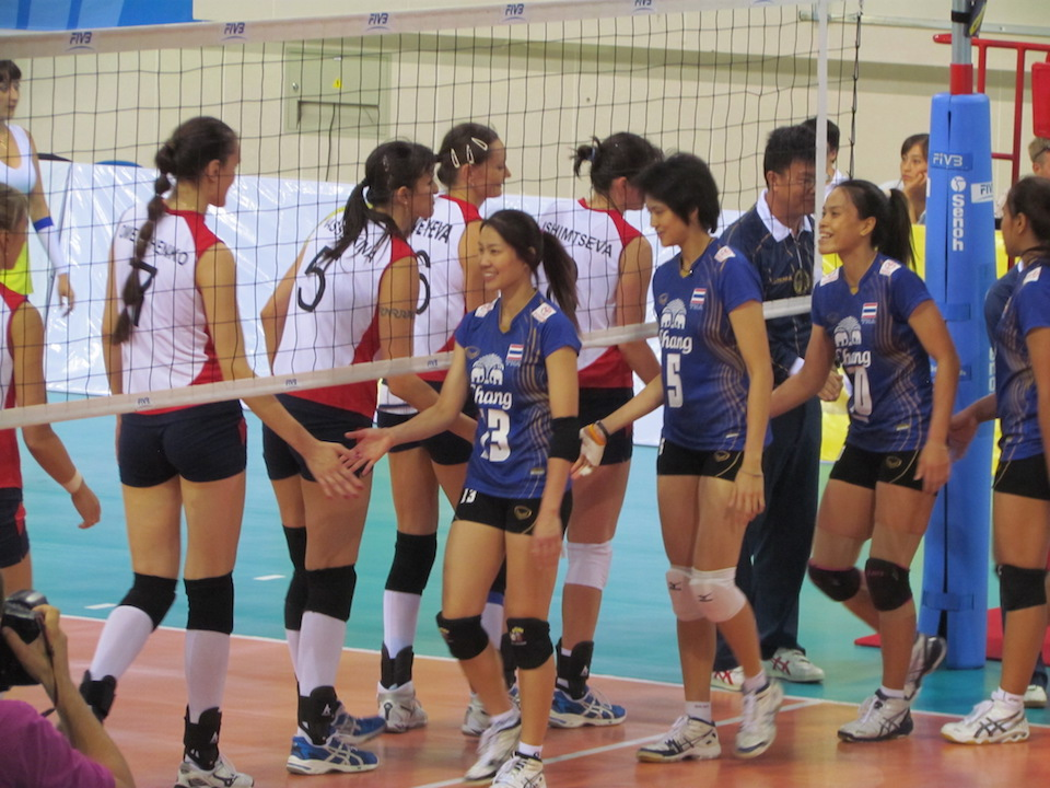 Serbian volleyball player apologizes to Thai team for alleged racist gesture