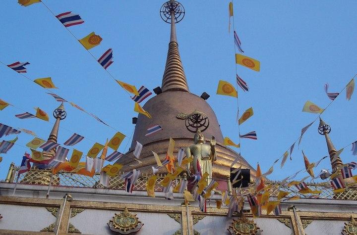 The Chedi of Wat Bang Na Nai in Bang Na District, Bangkok