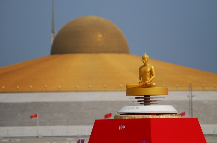 Wat Phra Dhammakaya is a Buddhist temple in Khlong Luang District in Pathum Thani Province