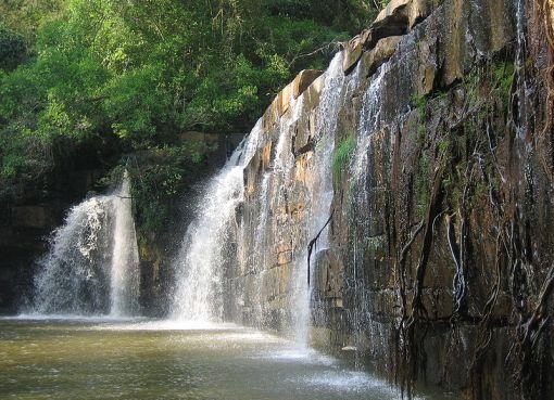 Sri Dit waterfall in Thung Salaeng Luang National Park, Phitsanulok