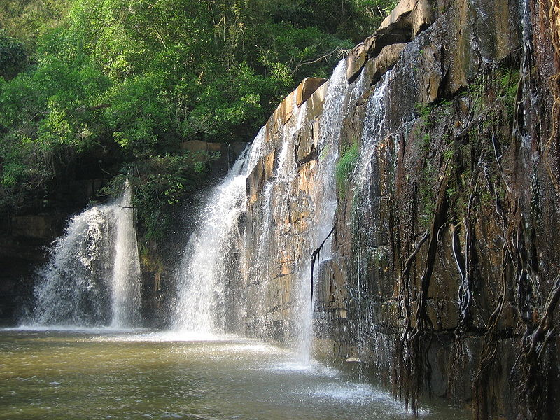 Sri Dit waterfall in Thung Salaeng Luang National Park, Phitsanulok