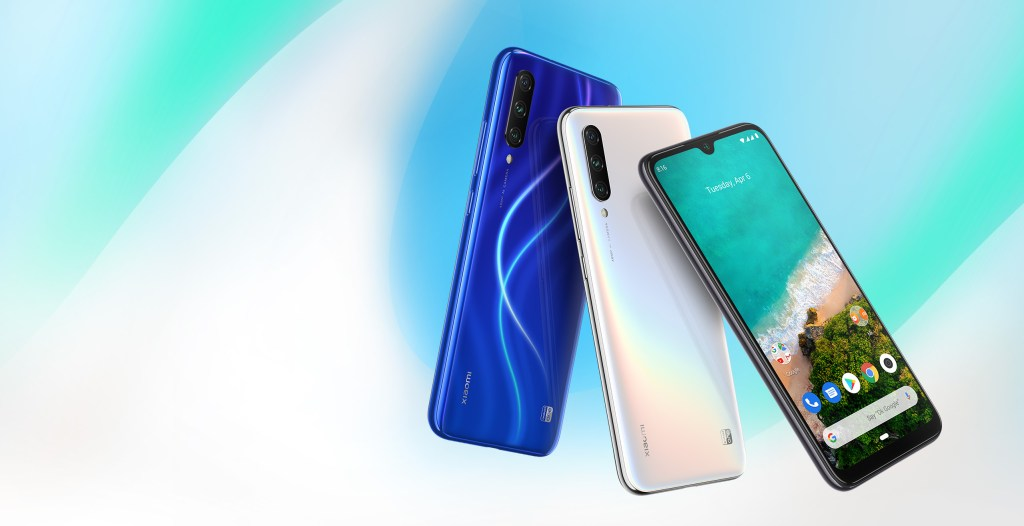 Xiaomi Mi A3 Android One smartphone available in 3 colors