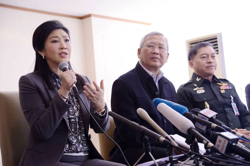 Yingluck Shinawatra asks attorney-general to accept additional witnesses