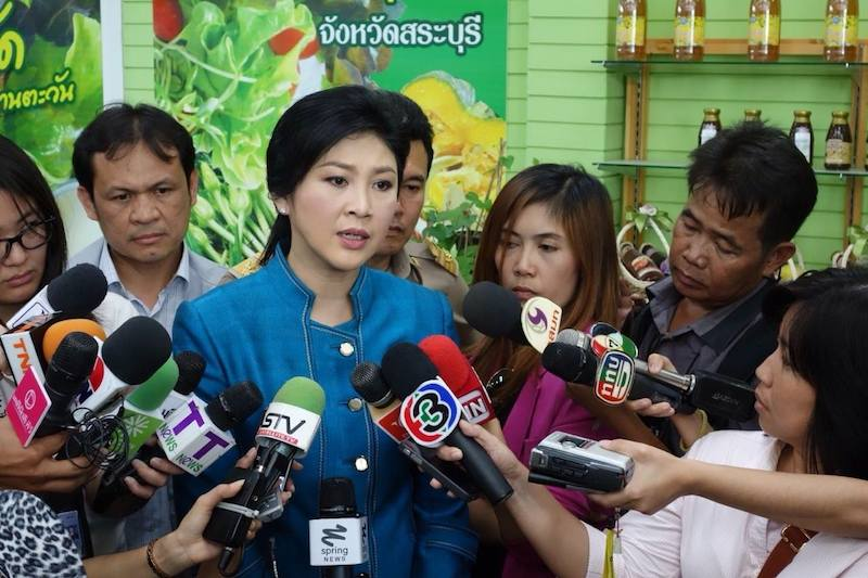 Yingluck testifies to Central Administrative Court