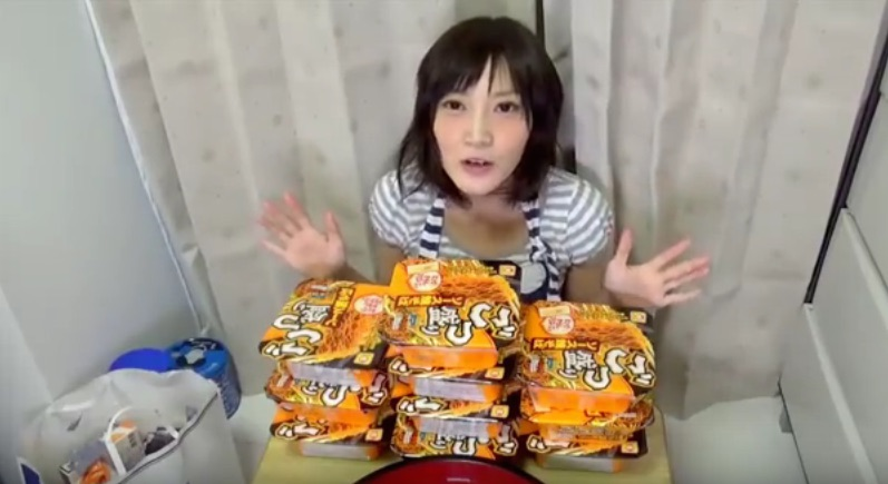 A Japanese Woman's Impressive Appetite Leaves the Internet Hungry for More