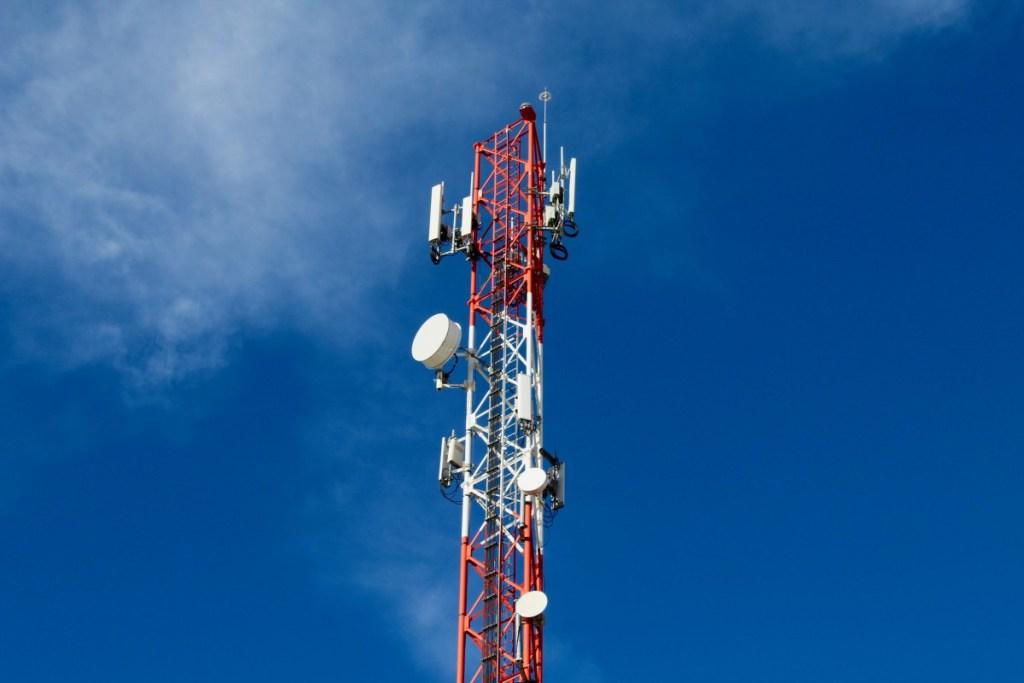 Radio antenna mast
