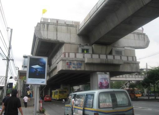 TS Mo Chit Station in Bangkok