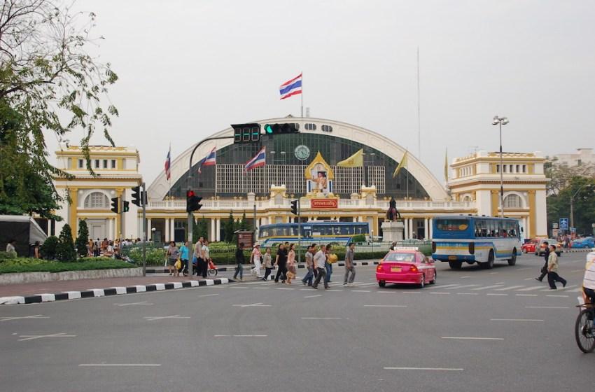Bangkok Hualamphong railway station