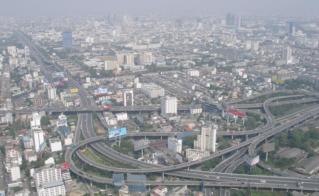 Bangkok elevated highways and expressways