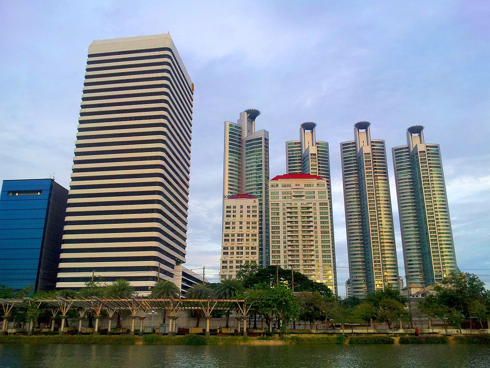 Buildings in Bangkok