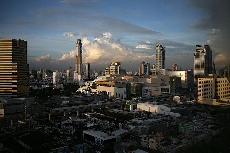 Skyline of Bangkok and the Baiyoke Tower II