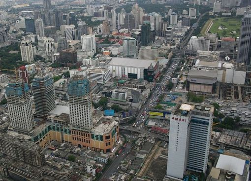 View of Bangkok from Baiyoke Tower II