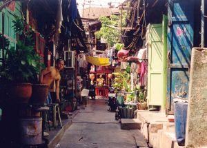 Bangkok backstreet, street, spoi