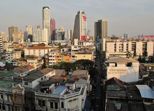 Bangkok, the capital of Thailand