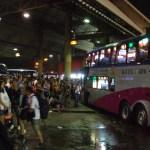 Bus Terminal (Mochit) in Bangkok, bus to Sisaket