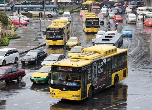 Buses in Bangkok