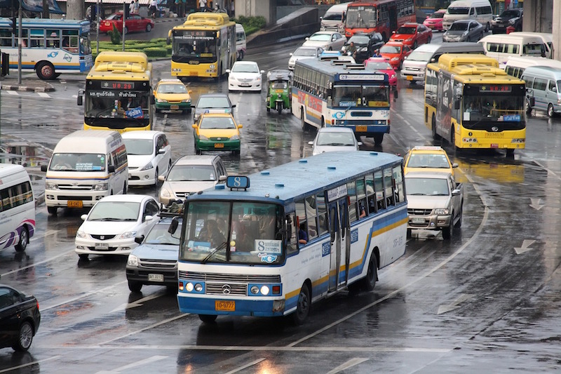 BMTA labour union opposes police use of buses to block protesters