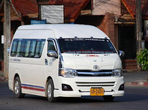 Toyota Commuter minivan in Hat Yai