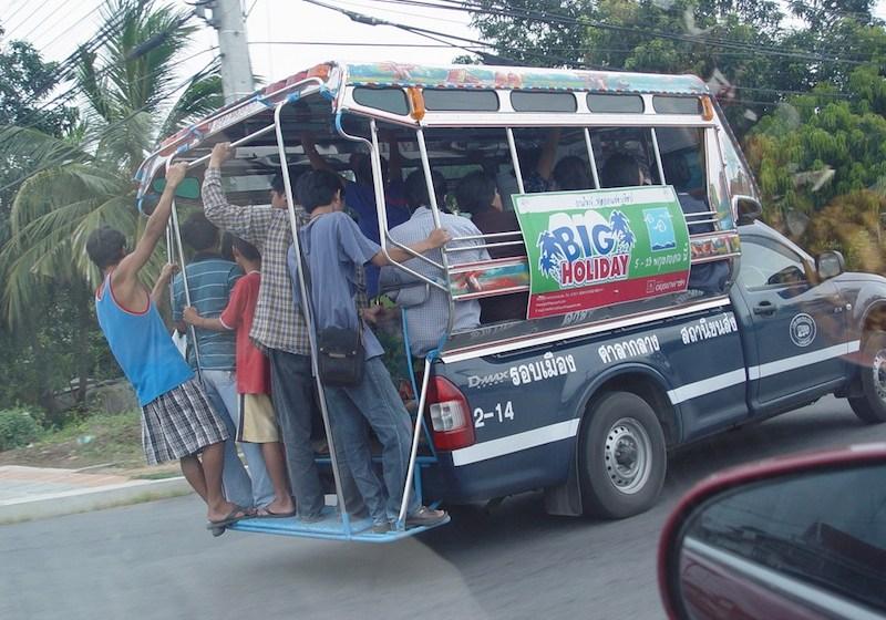 Baht bus in Thailand