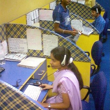 Call center in India