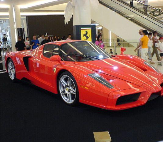 Ferrari Enzo at Siam Paragon, Bangkok