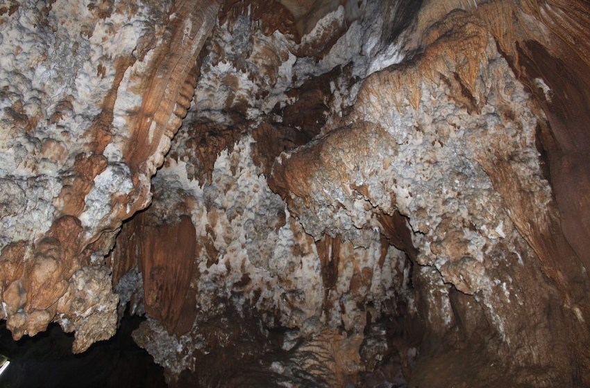 Cave in Khun Nam Nang Non Forest Park in Chiang Rai