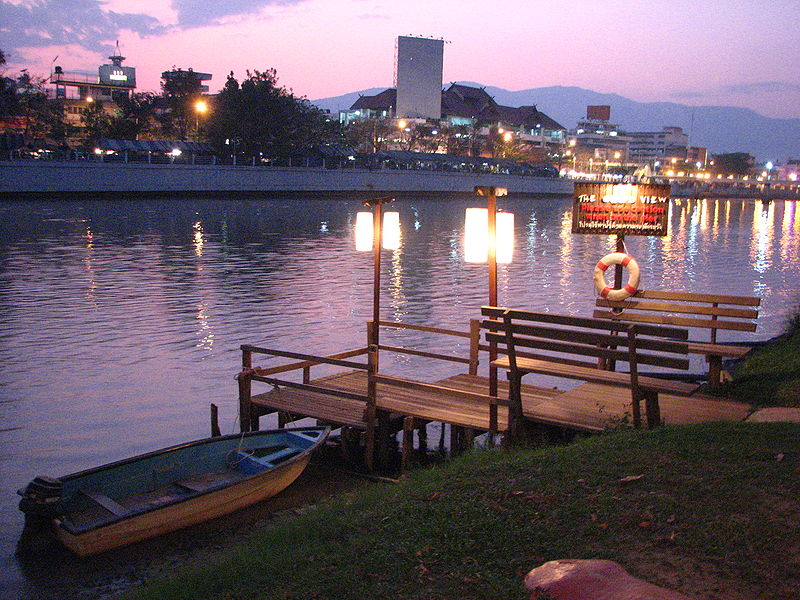 Ping river in Chiangmai
