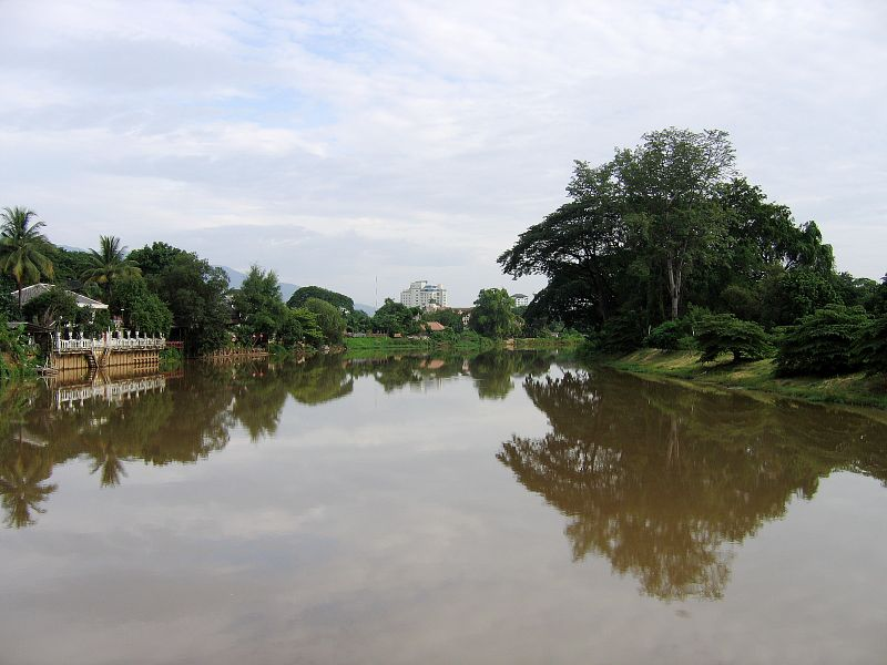 Chiang Mai town canal