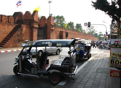 Tuk-tuks in Chiang Mai