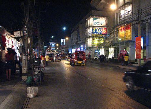 Chiang Mai Night Bazaar on Chang Khlan Road