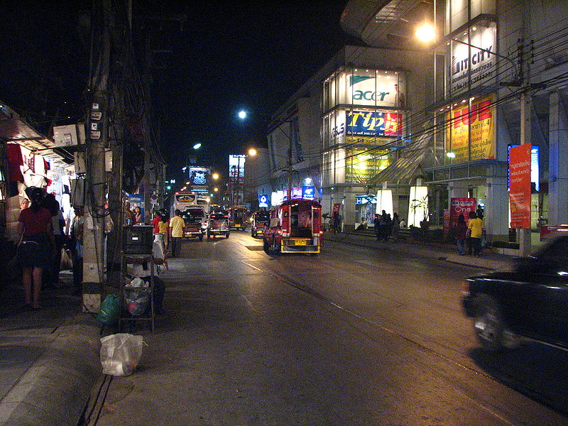 Chiang Mai Night Bazaar on Chang Khlan Road