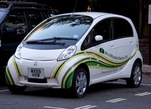 Mitsubishi electric car i-MiEV