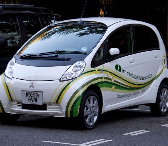 Mitsubishi electric car i-MiEV
