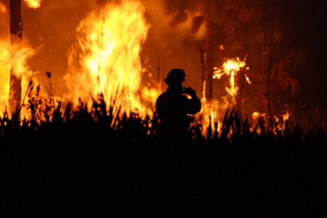 Fire destroys plastic water pipes in Rassada