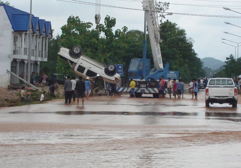 Five provinces of Thailand inundated