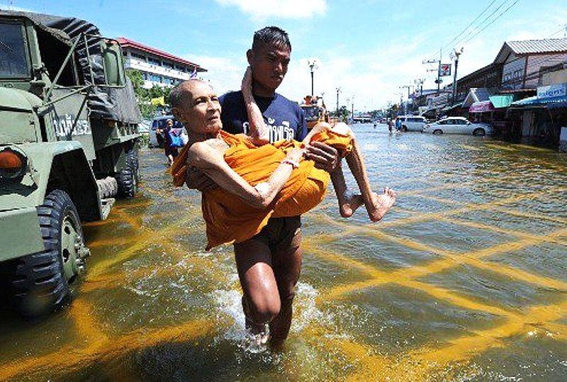 Girl, 10, swept away in Prachinburi floods