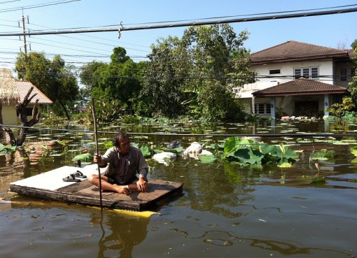 Floods across Thailand