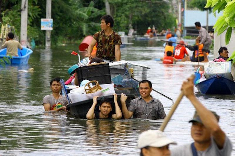 Thaksin's flood prediction comes true