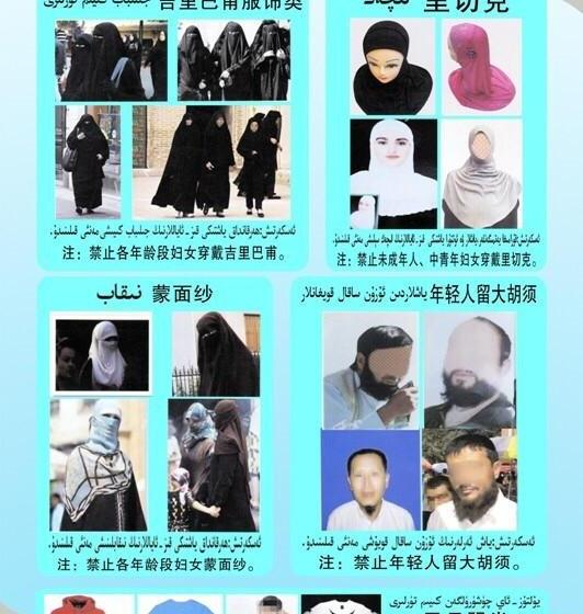 Local Chinese Government Bars Hijabs, Long Beards and Other 'Abnormal Appearances' From Public Transport