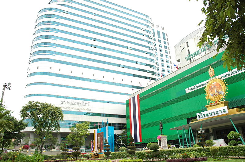 Vajira Hospital in Bangkok