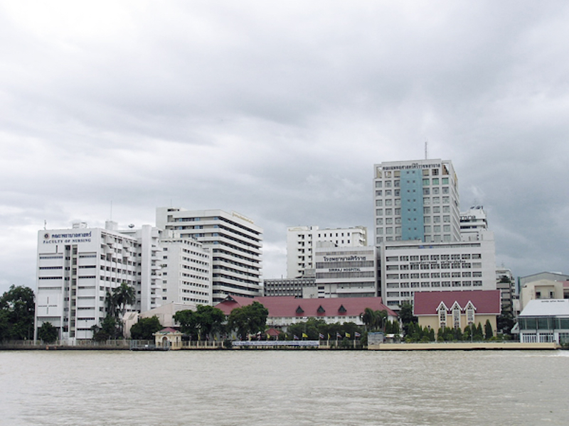 Siriraj Hospital and Mahidol University, Bangkok
