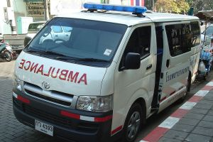 Ambulances blocked for transporting 'ice'