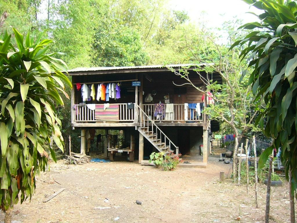 Isan style house in Nakoon Yai