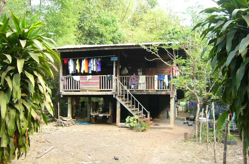 Race to repair homes after summer storms hit Si Sa Ket