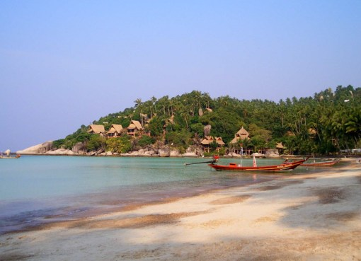 Longtail boat in Koh Tao