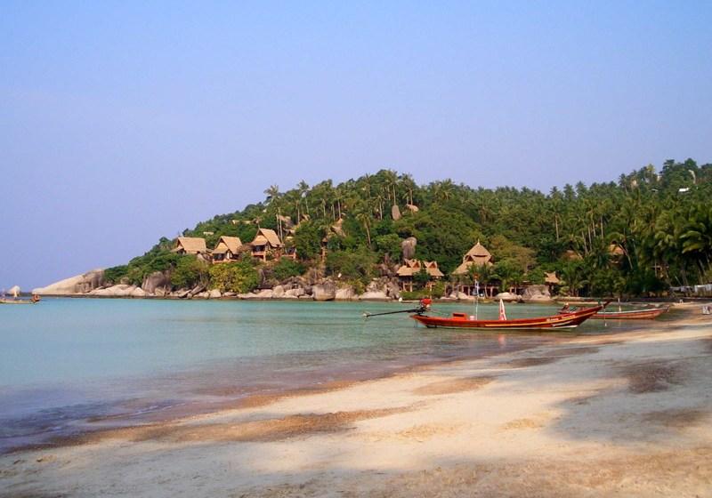 Longtail boat in Koh Tao