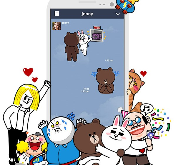 Line Corporation aiming to become leading smart portal
